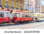 lisbon  portugal   jun 20  2014 ... | Shutterstock . vector #202645948