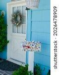 Dutch Door To Cottage With...