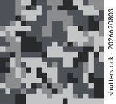 digital sorrow spirit dark blue ...   Shutterstock .eps vector #2026620803