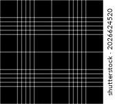 black white plaid pattern.... | Shutterstock .eps vector #2026624520