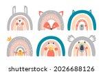 cute rainbow characters.... | Shutterstock .eps vector #2026688126