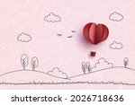 concept of valentine and love ...   Shutterstock .eps vector #2026718636