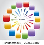 blast arrows and buttons | Shutterstock .eps vector #202683589