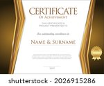 certificate or diploma of... | Shutterstock . vector #2026915286