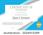 certificate or diploma of... | Shutterstock . vector #2026915289