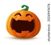 jack o lantern. halloween... | Shutterstock .eps vector #2026945676