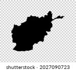 map of afghanistan isolated...   Shutterstock .eps vector #2027090723
