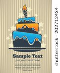 vector background with image of ... | Shutterstock .eps vector #202712434