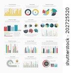 infographic elements big set | Shutterstock .eps vector #202725520