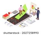 investing in stocks classes ...   Shutterstock .eps vector #2027258993