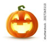 jack o lantern. halloween... | Shutterstock .eps vector #2027265113