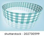 aquamarine gingham   check...   Shutterstock .eps vector #202730599