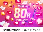 thank you followers peoples ...   Shutterstock .eps vector #2027416970