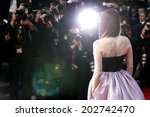 cannes  france   may 15 ... | Shutterstock . vector #202742470