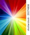 rainbow background in vector... | Shutterstock .eps vector #20274808