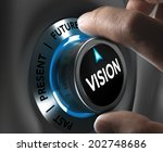 button vision pointing the... | Shutterstock . vector #202748686
