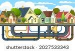 pipeline for various purposes.... | Shutterstock .eps vector #2027533343