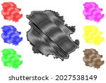 harz district  federal republic ... | Shutterstock .eps vector #2027538149