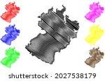 herzogtum lauenburg district ... | Shutterstock .eps vector #2027538179