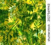 wild flowers seamless pattern...   Shutterstock . vector #2027569943