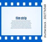 Simple Blue Film Strip...
