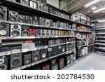 tokyo  april 11  speakers... | Shutterstock . vector #202784530