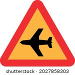 low flying aircraft or sudden...   Shutterstock .eps vector #2027858303