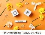 Beautiful Flowers And Calendar...