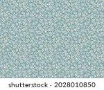 vector seamless pattern. pretty ... | Shutterstock .eps vector #2028010850