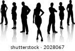 business team   vector | Shutterstock .eps vector #2028067