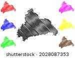 cham district  federal republic ... | Shutterstock .eps vector #2028087353