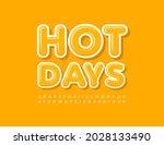 vector bright template hot days....   Shutterstock .eps vector #2028133490
