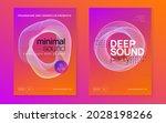 dj party. dynamic gradient... | Shutterstock .eps vector #2028198266