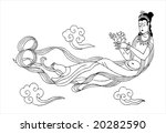 the woman of the myth  the...   Shutterstock . vector #20282590