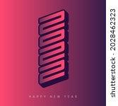 brochure or calendar design...   Shutterstock .eps vector #2028462323