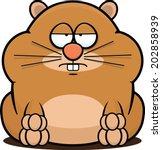 cartoon illustration of a... | Shutterstock .eps vector #202858939