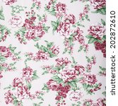 vintage style of tapestry... | Shutterstock . vector #202872610