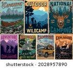 outdoor summer recreation... | Shutterstock .eps vector #2028957890