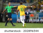 ������, ������: Neymar of Brazil and
