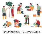 people or characters pick... | Shutterstock .eps vector #2029006316