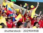 fortaleza  brazil   july 04 ... | Shutterstock . vector #202904908