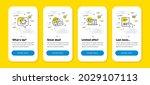 vector set of world mail ...
