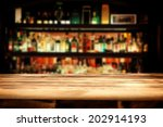 Stock photo bar and desk 202914193