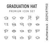premium pack of graduation hat...