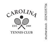90s retro tennis court sports...   Shutterstock .eps vector #2029235756