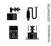 powerbank for gadget user black ... | Shutterstock .eps vector #2029294739