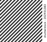 striped pattern  seamless black ... | Shutterstock .eps vector #202931383
