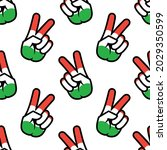 hungary flag in the form of a...   Shutterstock . vector #2029350599