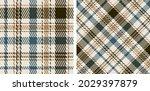 seamless plaid pattern...   Shutterstock .eps vector #2029397879
