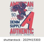 american eagle denim authentic  ...   Shutterstock .eps vector #2029415303